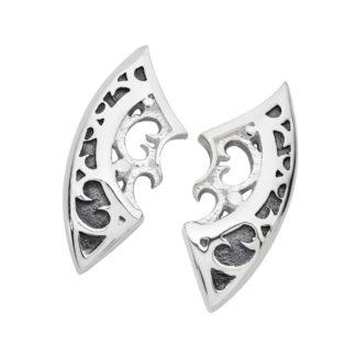 Silver Shield - Karen Duncan Jewellery, Orkney