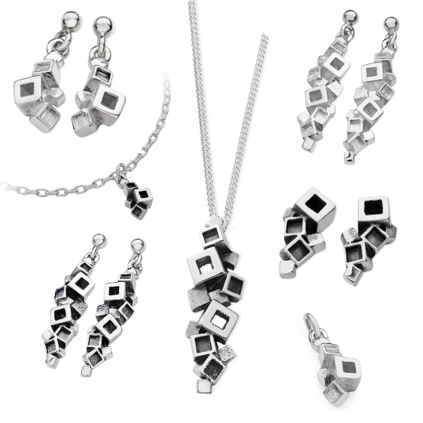 Karen Duncan Jewellery - Blocks Collection
