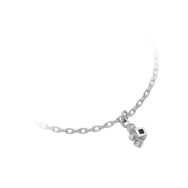 Karen Duncan Jewellery - Blocks Plain Charm Bracelet