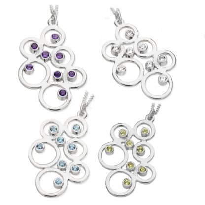 Karen Duncan Jewellery - Bubbles Large Pendants