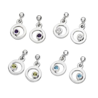 Karen Duncan Jewellery - Bubbles Small Drop Earrings