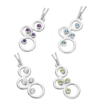 Karen Duncan Jewellery - Bubbles Small Pendants