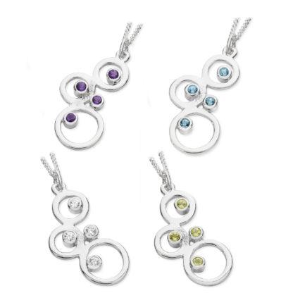 Karen Duncan Jewellery - Bubbles Small Pendants