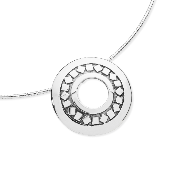 Karen Duncan Jewellery - Glimps Holm Pendant on Wire