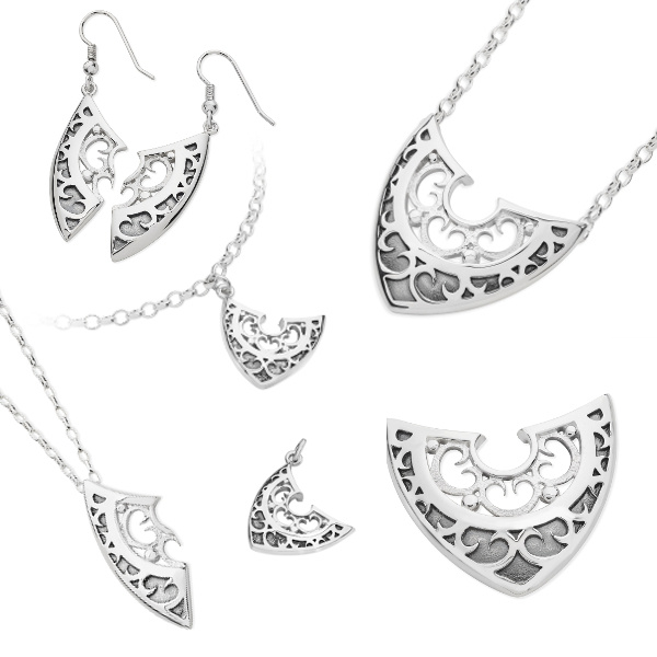 Karen Duncan Jewellery - Shield Collection