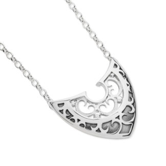 Karen Duncan Jewellery - Shield Necklet on Chain
