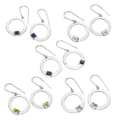 Karen Duncan Jewellery - Solar Drop Earrings
