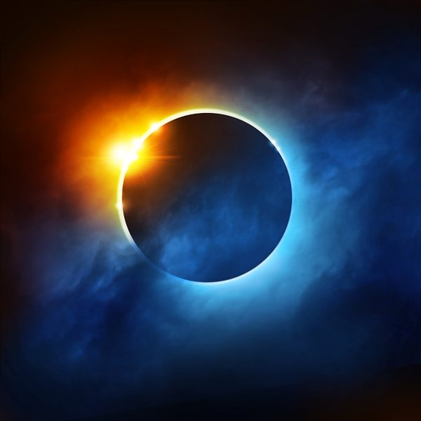 Solar eclipse, inspiration for the Solar collection of Karen Duncan Jewellery