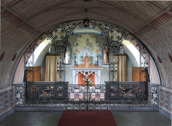 Interior of the Italian Chapel, Orkney