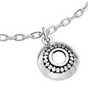 Karen Duncan Jewellery Glimps Holm Silver Charm Bracelet Detail