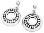Karen Duncan Jewellery Glimps Holm Silver Drop Earrings