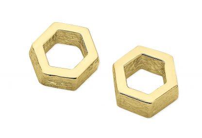 Karen Duncan Jewellery - Honeycomb Small Drop Earrings