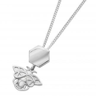 Karen Duncan Jewellery - Bee and honeycomb necklet
