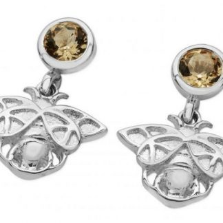 Karen Duncan Jewellery - Bee Citrine Drop Earrings