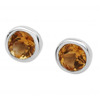 Karen Duncan Jewellery - Citrine Stud Earrings
