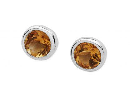 Karen Duncan Jewellery - Citrine Stud Earrings
