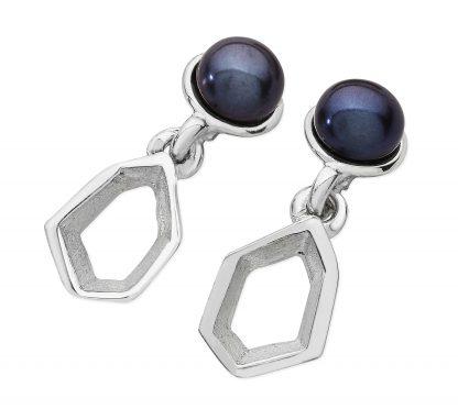 Karen Duncan Jewellery - Ebb Pearl Small Drop Earrings