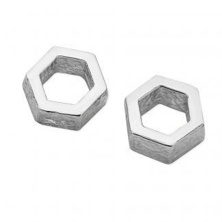 Karen Duncan Jewellery - Honeycomb Small Stud Earrings