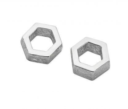 Karen Duncan Jewellery - Honeycomb Small Stud Earrings