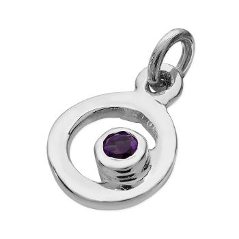 Karen Duncan Jewellery - Bubbles Amethyst Charm