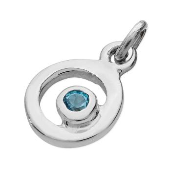 Karen Duncan Jewellery - Bubbles Blue Topaz Charm