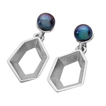 Karen Duncan Jewellery - Ebb Pearl Drop Earrings