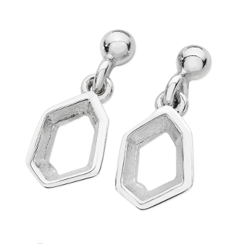 Karen Duncan Jewellery - Ebb Small Drop Earrings